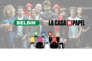 Juega con Belbin: roles de equipo en La Casa de Papel