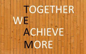 trabajo en equipo team work