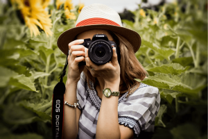 Roles de equipo fotografiando
